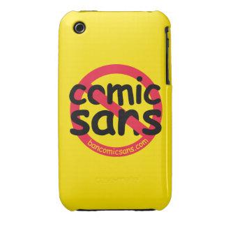 Färben Sie kein Comic ohne gelb iPhone 3 Covers