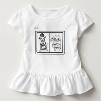 Färben Sie mich Entwürfe durch Feralartist - Hund Kleinkind T-shirt
