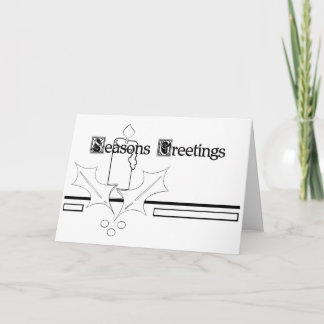 """Color Me"" cards - Seasons Greetings!"