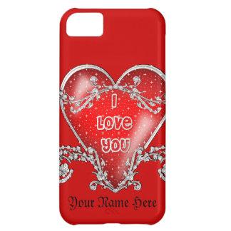 Färben Sie mich Liebe des Rot-I Sie iPhone 5C Hülle