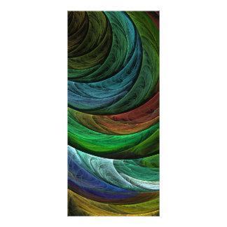 Färben Sie Ruhm-abstrakte Kunst-Gestell-Karte Werbekarte