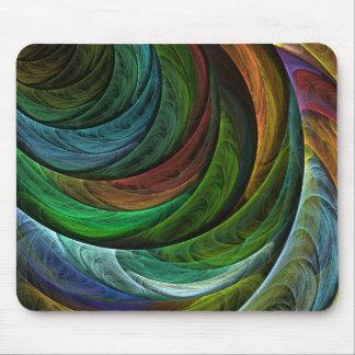 Färben Sie Ruhm-abstrakte Kunst Mousepad