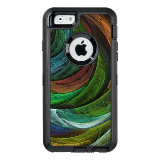 Färben Sie Ruhm-abstrakte Kunst OtterBox iPhone 6/6s Hülle