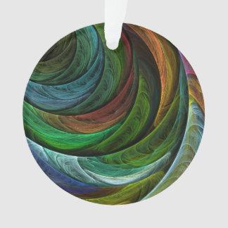 Färben Sie Ruhm-abstrakten Kunst-Acryl-Kreis Ornament