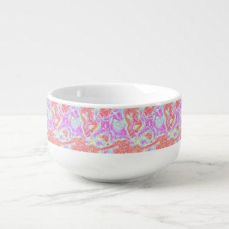 Farben und Schwingungen 2 Große Suppentasse