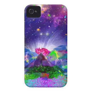 Farben und Sterne leuchten der Nacht iPhone 4 Hüllen