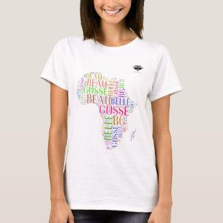 Farben von Afrika-Galanen Gosses brennen durch BG T-Shirt