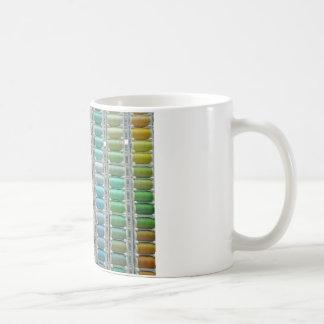 Farben von Baumwolle Kaffeetasse