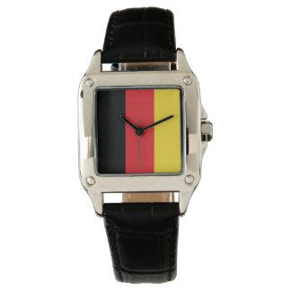 Farben von Deutschland-Flagge Armbanduhr