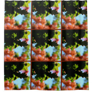 Farben von Herbst 02 Duschvorhang