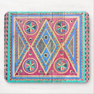 Farben von Najd Stammes- Tür Mousepad