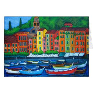 Farben von Portofino Karte