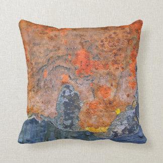 Farben von Rost 065, Rost-Kunst Kissen