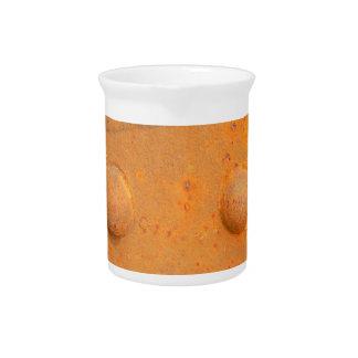 Farben von Rost 07,2, Rost-Kunst Getränke Pitcher