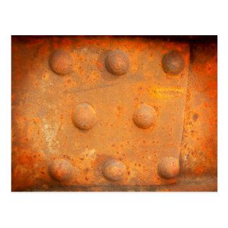 Farben von Rost 07,2, Rost-Kunst Postkarte