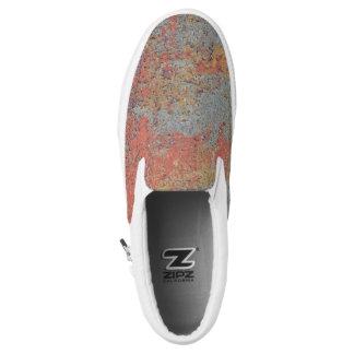 Farben von Rust09.0, Rost-Kunst Slip-On Sneaker