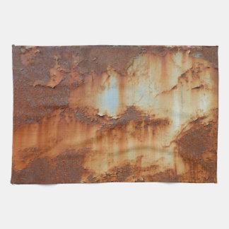 Farben von Rust_756, Rost-Kunst Handtuch