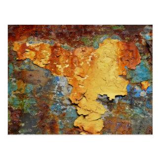 Farben von Rust_894, Rost-Kunst Postkarte