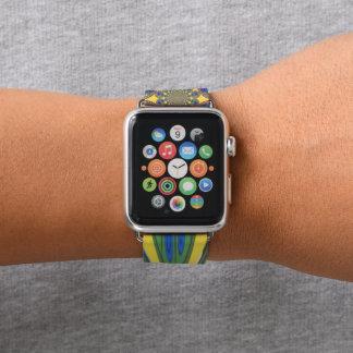 Farben von Südafrika Apple Watch Armband