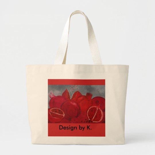farbenfroh Früchte-Shopping-Bag Jumbo Stoffbeutel