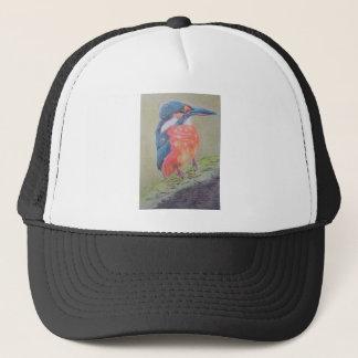 Farbenfroher Eisvogel Truckerkappe