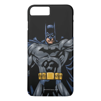 Farbenreiche Front Batmans iPhone 8 Plus/7 Plus Hülle