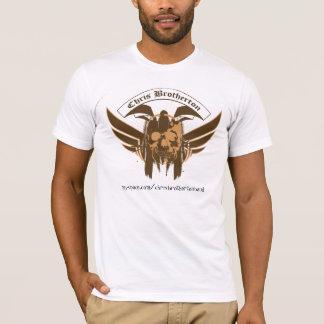 Farbenreiche Logo-Damen Chris Brotherton T-Shirt
