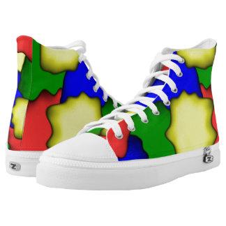 Farbentwurf Hoch-geschnittene Sneaker