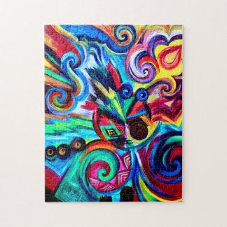 Farbexplosion Puzzle
