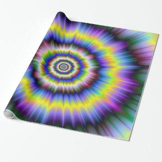 Farbexplosions-Papier Geschenkpapier