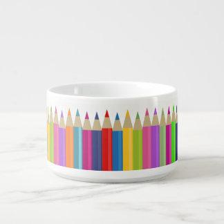 Farbige Bleistift-Revue Kleine Suppentasse