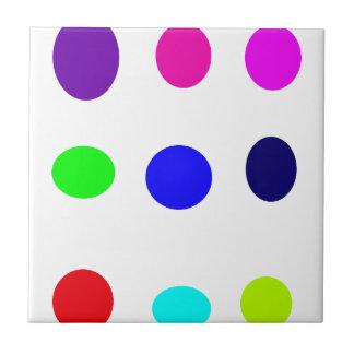 Farbige Eier Keramikkacheln