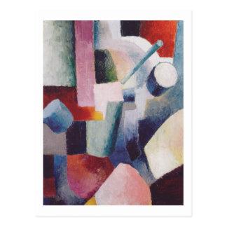 Farbige Formen 1914 bis August Macke Postkarte