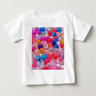 farbige Geleeballbeschaffenheit Baby T-shirt