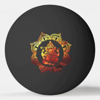 Farbige Meditation Tischtennis Ball