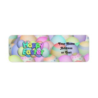 Farbige Ostereier - fröhliche Ostern