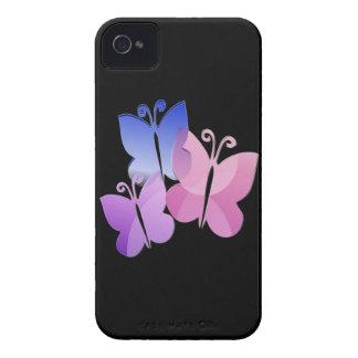 Farbige Schmetterlinge iPhone 4 Etuis