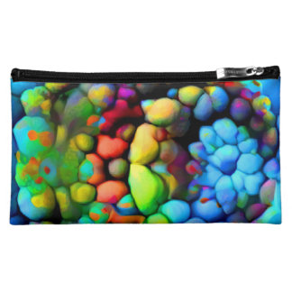 Farbige Steine Cosmetic Bag
