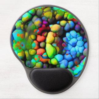 Farbige Steine Gel Mousepad
