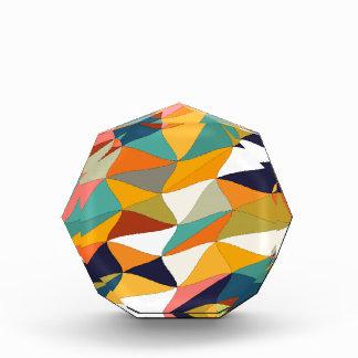 farbige Verwicklung Acryl Auszeichnung