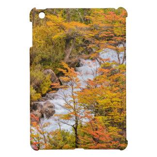 Farbige Waldlandschaftsszene, Patagonia iPad Mini Hülle