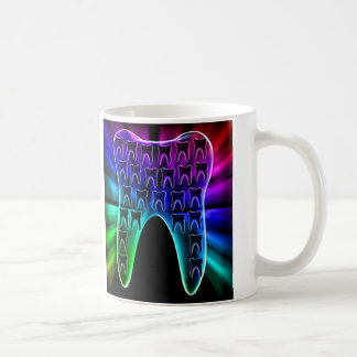 Farbige Zahn-Zahnarztorthodontist-Tasse Tasse