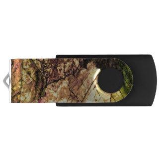 Farbiger Blätter USB-Blitz-Antrieb USB Stick