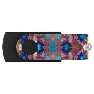 Farbiger Blumen USB-Blitz-Antrieb USB Stick