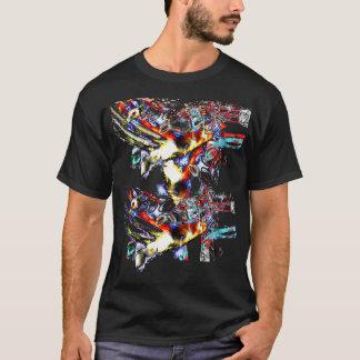 Farbiger Licht-T - Shirt