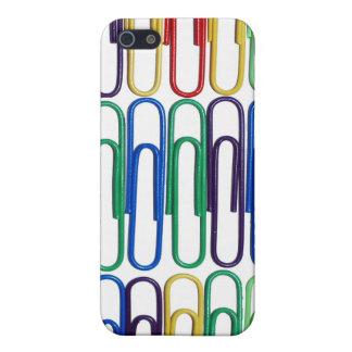 Farbiger Papierklammern iPhone Kasten Hülle Fürs iPhone 5