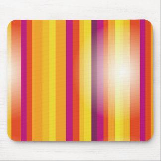 Farbiger vertikale Streifen-Hintergrund-Vektor Mauspad