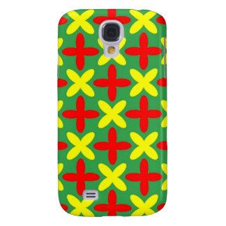 Farbiger x iphone Kasten Galaxy S4 Hülle