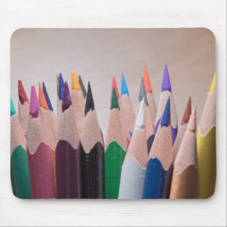 Farbiges Bleistifte mousepad