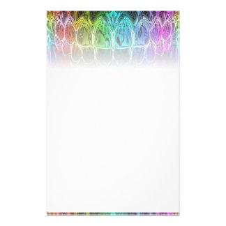 Farbiges Briefpapier